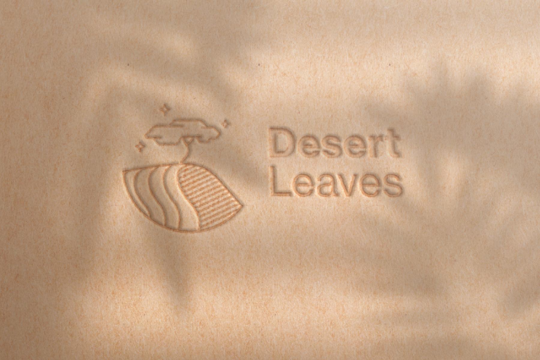 Logo Desert Leaves