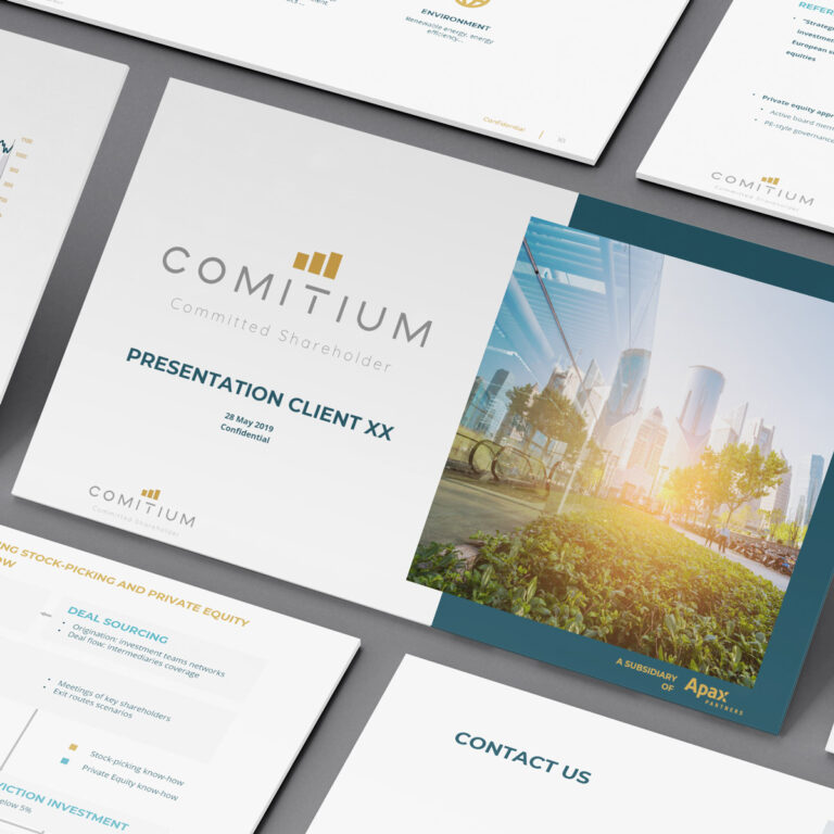 Commitium Power Point template