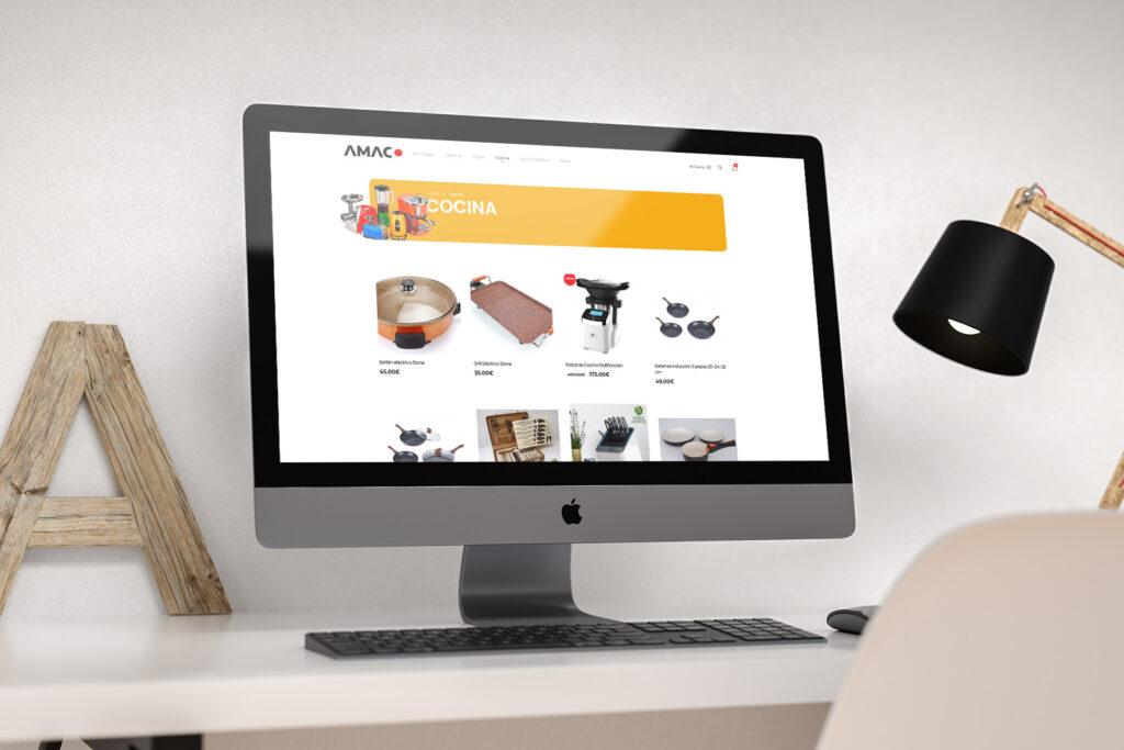 Diseño web a medida amaco